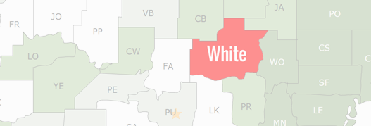 White County Map